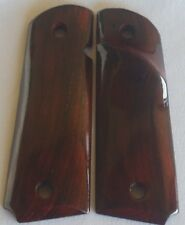 1911 right-hand TARGET GRIPS 4 COLT FULL SIZE KIMBER LES BAER COCOBOLO ROOT Z-51