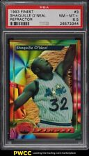 1993 Finest Refractor Shaquille O'Neal #3 PSA 8.5 NM-MT+