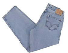 LEVIS Comfort Jeans 560 33x31 Relaxed Tapered Leg Light Stonewashed Cotton Denim