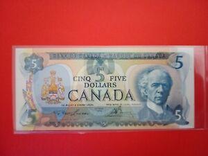 Banknote Canada 1979(UNC)5 $ bill.
