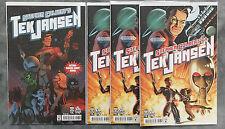 STEPHEN COLBERT'S TEK JANSEN COMIC #1 1st PRINT 4 COPIES (3 REGULAR / 1 VARIANT)
