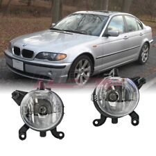 For BMW 3 Series 99-03 Factory Bumper Replacement Fit Fog Lights Clear Lens