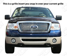 2004-2008 Ford F150 chrome mesh honeycomb grille insert grill overlay trim
