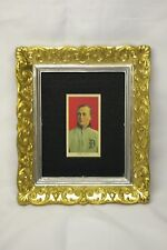 1911 T206 Ty Cobb Tobacco Card RP Red w/ Gold + Silver Frame Old Tigers Baseball