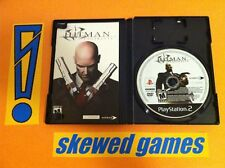 Hitman Contracts - PS2 PlayStation 2 Sony COMPLETE