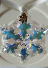 Swarovski, 25th Anniversary 2016 Snowflake Ornament, Extra Large Art No 5258537.