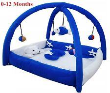 Smart Baby Bassinet & Cradle Bedding Set in Large Size PlayGym Met – Blue Colour