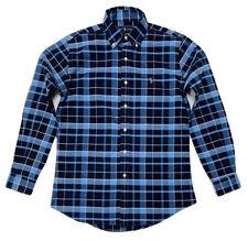 Ralph Lauren Men's Classic Fit Tartan Check Shirt In Blue/Navy
