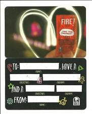 Lot (2) Taco Bell Gift Cards No $ Value Collectible