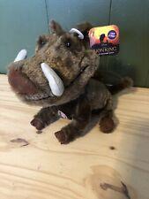 The New Lion King Pumba Talking Stuffed Toy. Plush stuffed animal
