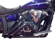 Yamaha Stryker Curburner Black Exhaust EXTREME XVS1300