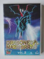 DRAGONES Y MAZMORRAS - DVD - VOL 2 - EPS 5 AL 7 - SERIE DE CULTO - SPANISH ED