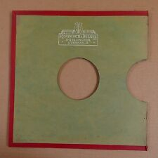 "10"" 78rpm gramophone record sleeve RUSHWORTH & DREAPER , LIVERPOOL"