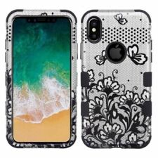 Silver Matte Mobile Phone Cases & Covers for iPhone X