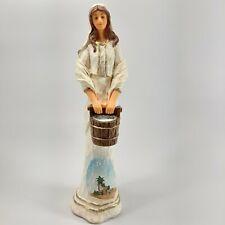 Hawthorne Village Thomas Kinkade Bountiful Water Bearer Elegant Blessings Figure