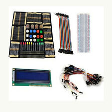 Starter Kit with Switch,Led,LCD Module,Breadboard,Resistors for Arduino Mega2560