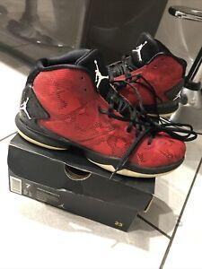 Nike Air Jordan Super.Fly 4 Red/White-Black (768929) Size UK 6 In Box