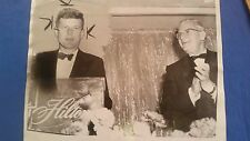 "PRESIDENT JOHN F. KENNEDY VINTAGE 1956 ORIGINAL 8"" x 10"" PHOTOGRAPH TYPE 1"