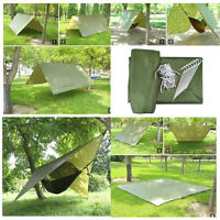 Waterproof Portable Camping Tent Tarp Shelter Mat Lightweight Hammock Cover Gear