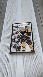 2008-09 Boston Bruins Hockey Media Guide & Record Book