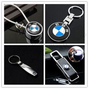 Hot For BMW Car Logo Titanium Key Chain Ring Keychain Keyfob Metal Trendy Holder