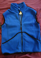 NWT TechNiche Warming Fleece Vest Blue Size Small for Cold Weather