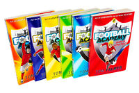 Football Academy 6 Books Set Tom Palmer collection NEW -  Boys United, Captain