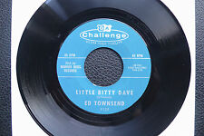 "7"" Ed Townsend - Little Bitty Dave - USA Challenge"