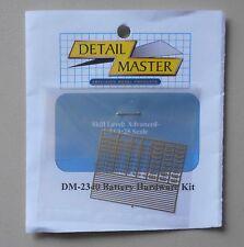 BATTERY HARDWARE 1:24 1:25 DETAIL MASTER CAR MODEL ACCESSORY 2340