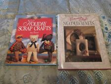 Better Homes & Gardens  Victorian Style Needlecrafts+Holiday Crafts~ [2Books]!