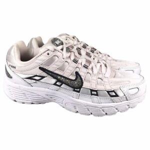 Nike P-6000 SE Running Shoes Light Soft Pink Black White CJ9585-600 Womens Sz 5