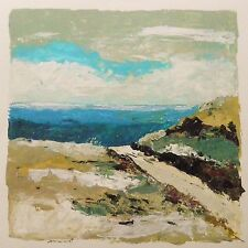 Original Sea Beach LANDSCAPE  Painting Acrylic John Williams art JMW Realism