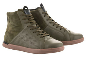 Alpinestars JAM AIR CE Certified Street Riding Boots/Shoes (Military Green)