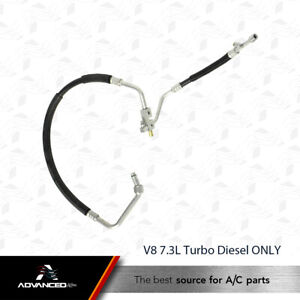 AC A/C Manifold Line Fits: 94 - 96 Ford F250 - 94 - 97 F350 V8 7.3L Diesel ONLY