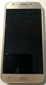 [BROKEN] Samsung Galaxy SM-J326AZ Cell Phone Cricket Gold Parts No Screen