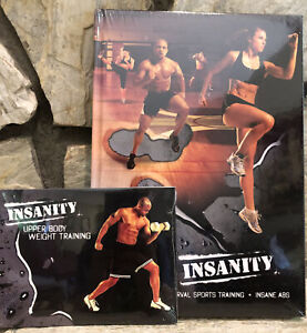 Shaun T's Insanity DVD Series With Bonus DVD Upper Body Abs Workout New Sealed