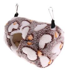 Squirrel Hamster Cozy Hammock, Ferret Sugar Glider Mice Warm Nest House Coffee