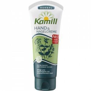 5 x Kamill Hand&Nagelcreme 100ml Herbal