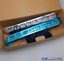 Front Bumper LED Daytime Running Light Kit For Toyota Land Cruiser LC200 2012-15