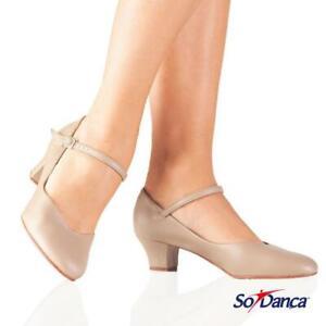 HALF PRICE - So Danca Character Shoe with 1.5 Heel