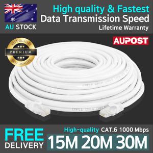2021 Premium CAT6 15m, 20m, 30m 1000Mbps Internet stable network ethernet cable