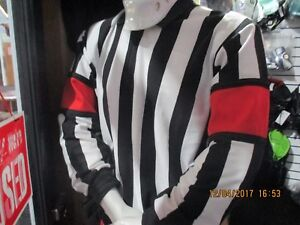 Ice Hockey Official Referee Jersey Top Senior Small