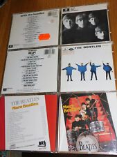 LOT 3 CD WITH more THE BEATLES help! parlophone BRS 1963-1965 CDP