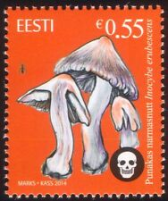 Estonia 2014 Poisonous Fungi/Mushrooms/Plants/Nature 1v (ee1005)