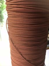 TIMBER/CEDAR/PVC VENETIAN BLIND CORD FOR 50MM-63MM BLINDS - BROWN X15 MTRS