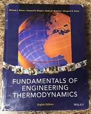Fundamentals of Engineering Thermodynamics Textbook