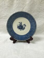 Vintage Royal China Currier and Ives Paddle Wheel Steamboat Saucer