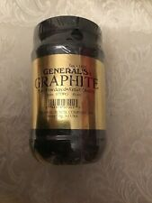 General's Powdered Pure Graphite 6oz Artist Quality Art Supply Gold Label