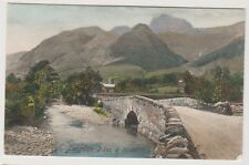 Cumbria postcard - Longdale Pikes and Hotel