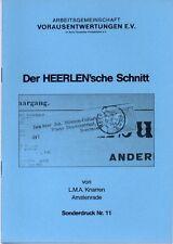 Broschüre Niederlande Vorausentwertungen Niederlande Der Heerlen´sche Schnitt